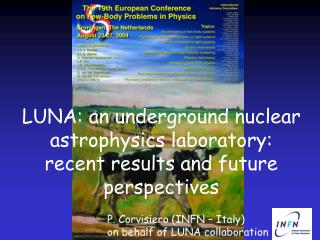 LUNA: an underground nuclear astrophysics laboratory:  recent results and future perspectives