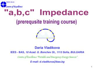 (prerequsite training course)