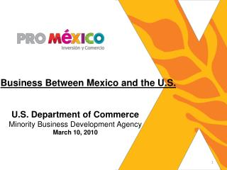 Business Between Mexico and the U.S.