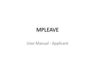 MPLEAVE