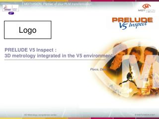 PRELUDE V5 Inspect :  3D metrology integrated in the V5 environment