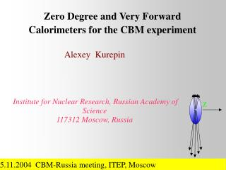 Zero Degree and Very Forward Calorimeters for the CBM experiment