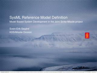 SysML Reference Model Definition