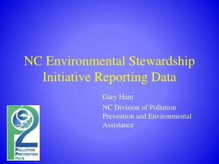 NC Environmental Stewardship Initiative Reporting Data