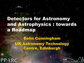 Detectors for Astronomy and Astrophysics : towards a Roadmap