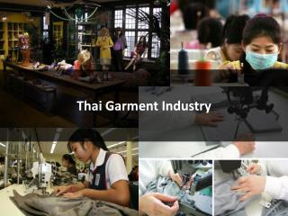 Thai Garment Industry