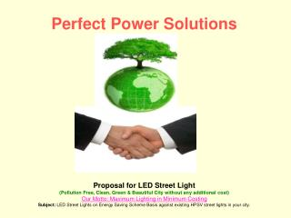 Perfect Power Solutions