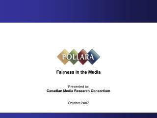 Fairness in the Media