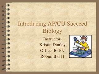 Introducing AP/CU Succeed Biology
