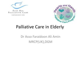 Palliative Care in Elderly