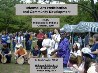 Informal Arts Participation  and Community Development