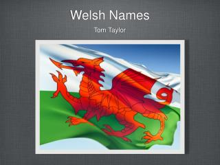 Welsh Names
