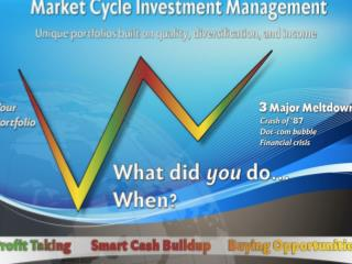 "Market Cycle Investment Management ""Life Cycle"" Portfolios"