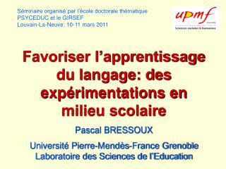 L'enseignement direct (explicite) Ou