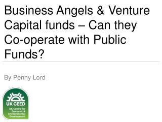 Business Angels & Venture Capital funds – Can they Co-operate with Public Funds?