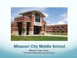 Missouri City Middle School