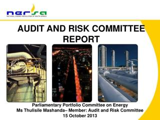AUDIT AND RISK COMMITTEE REPORT