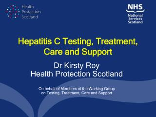 Hepatitis C Testing, Treatment, Care and Support