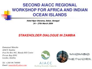 STAKEHOLDER DIALOGUE IN  ZAMBIA