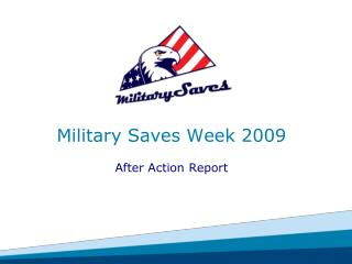 Military Saves Week 2009