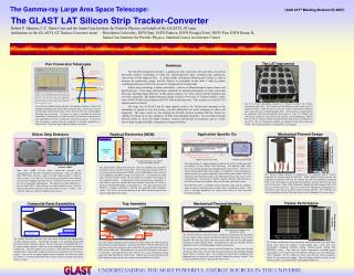 The GLAST LAT Silicon Strip Tracker-Converter