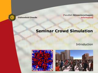 Seminar Crowd Simulation