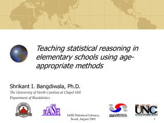 Teaching statistical reasoning in elementary schools using age-appropriate methods
