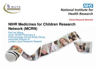 NIHR Medicines for Children Research Network (MCRN)
