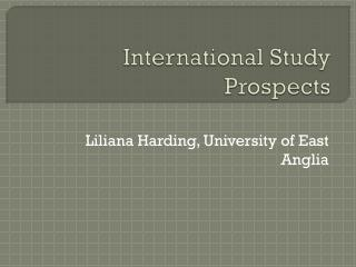 International Study Prospects