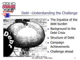 Debt –Understanding the Challenge