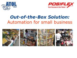 Out-of-the-Box Solution : Automation  for small business