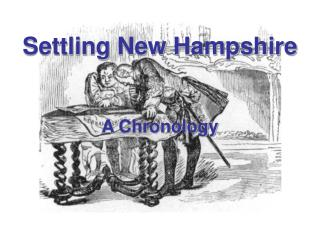 Settling New Hampshire A Chronology