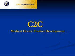 C2C Medical Device Product Development