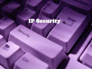 IP Security