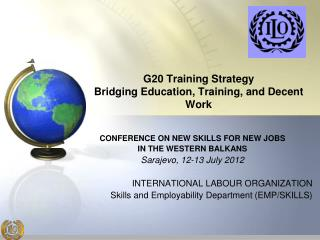 G20 Training Strategy Bridging Education, Training, and Decent Work