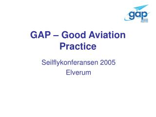 GAP – Good Aviation Practice