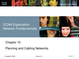 Chapter 10 Planning and Cabling Networks