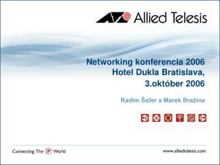 Networking konferencia 2006 Hotel Dukla Bratislava,  3.október 2006