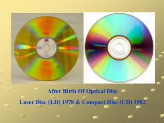 Mini Disc (MD) The Next Generation Of Optical