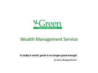 Wealth Management Service