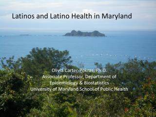 Latinos and Latino Health in Maryland