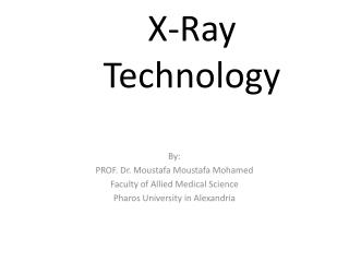 X-Ray  Technology