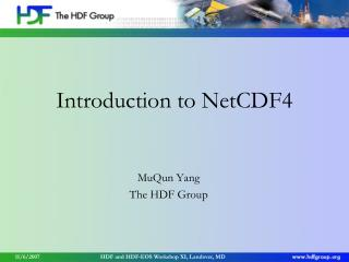 Introduction to NetCDF4