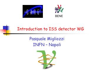 Introduction to ISS detector WG