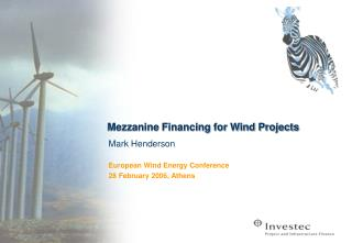 Mezzanine Financing for Wind Projects