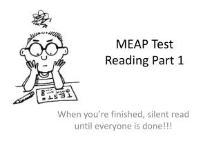 MEAP Test Reading Part 1