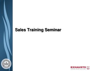 Sales Training Seminar