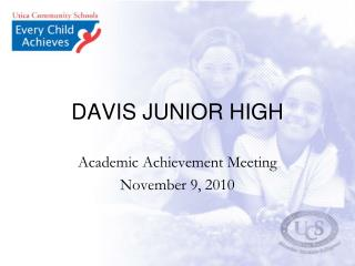 DAVIS JUNIOR HIGH