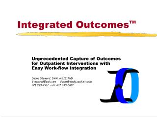 Integrated Outcomes TM