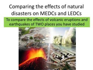 natural disaster case studies